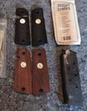 Colt .38 Clip and (2) pair of Original Colt Grips