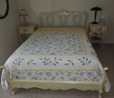 Extra Nice French Provincial 4 Piece Bedroom Suite