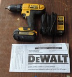 Like New Dewalt Drill  and Charger