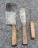 Pair of Vintage Meat Cleavers