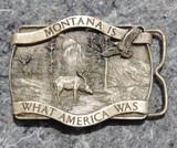 1981 Bergamot Brass Works Belt Buckle