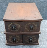 Antique 4 Drawer Sewing Cabinet Drawers