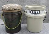 (2) Fishing Buckets (Yeti Bucket)