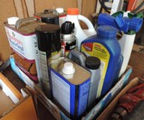 Lot of Used Chemicals