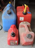 (4) Gas Can Lot