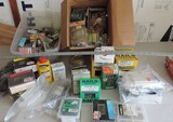 Large Lot of Nails, Bolts, Screws, and More
