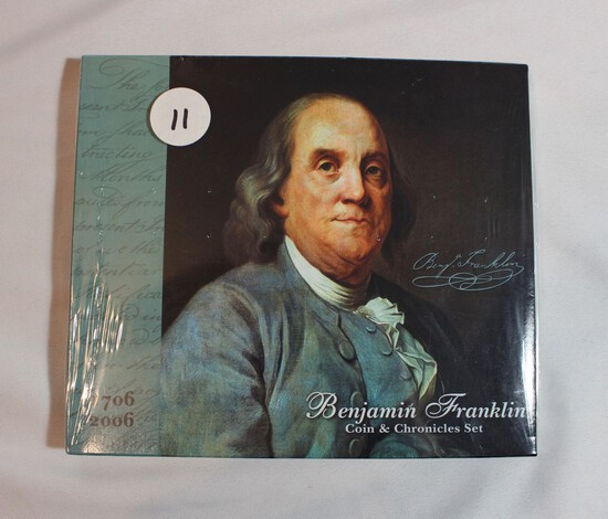 Ben Franklin Coin and Chronicles Set