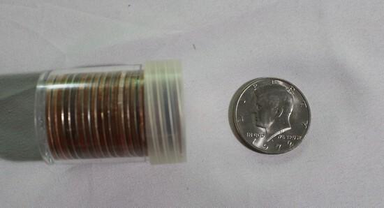 (20) Uncirculated Kennedy Half Dollars