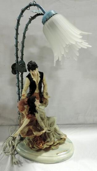 Mirella Collection Figural Resin Lamp
