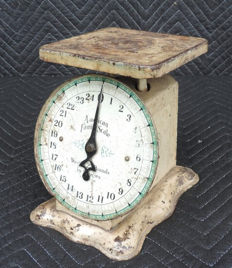 Antique American Family Kitchen Scales