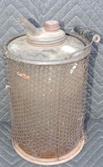 Antique Glass Kerosene Jar