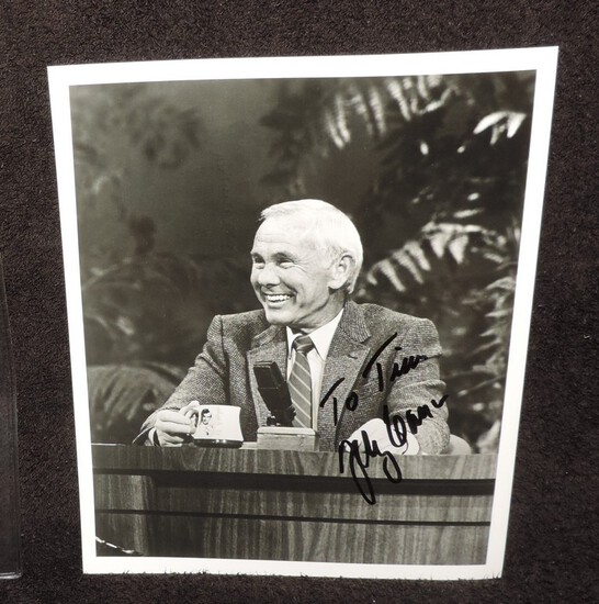 Autographed 8x10 Photo of Johnny Carson