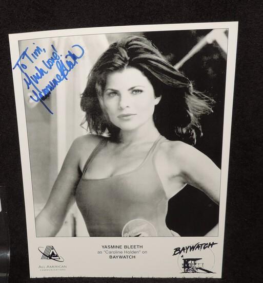 Autographed 8.5x11 Photo of Yasmime Bleeth