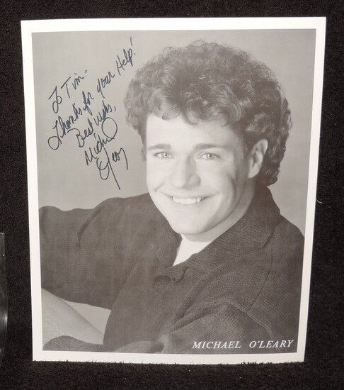 Autographed 8x10 Photo of Michael O'Leary