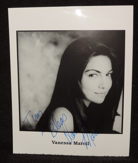 Autographed 8x10 Photo of Vanessa Marcil