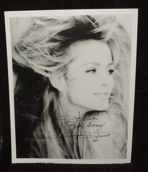 Autographed Farah Fawcett 8X10 Photo