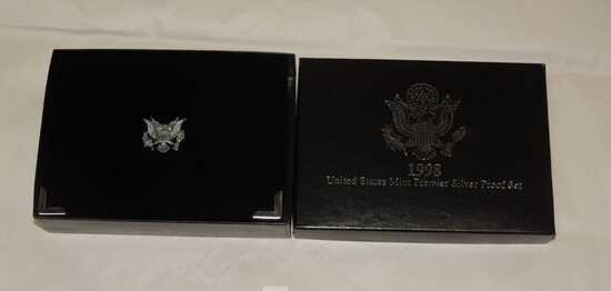 1998 US Mint Premier Silver Proof Set