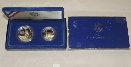 1986 Ellis Island Silver Dollar Commerative