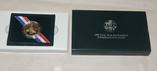 1995 Civil War Battlefield Commerative Clad Half Dollar