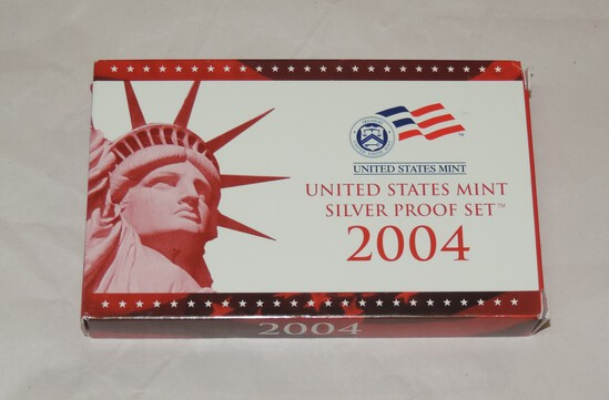 2004 US Mint Silver Proof Set