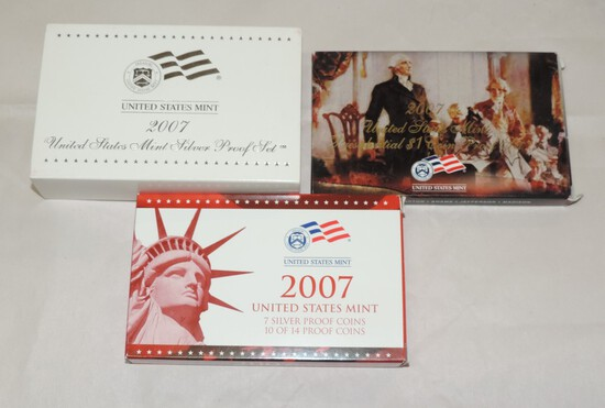 2007 US Silver Mint Set
