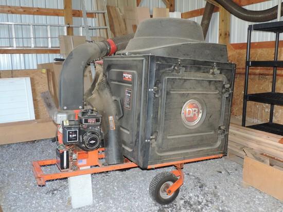 D.R. Lawn Vacuum Pull Type