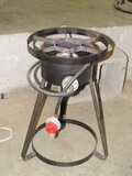 Propane Cooker On Stand