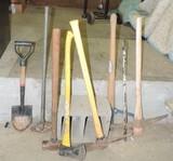 Handled Tool Lot