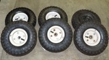 Set Of 6 Haul Masters Tires