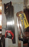 Wall Lot Of Saws
