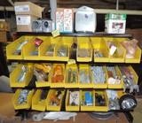 Metal & Plastic Bin Lot