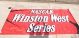 2003 RJR Nascar Winston West Series Vinyl Banner