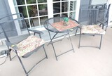 (5) Piece Folding Table and Chair Lot