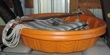 Lot of (5) Plastic Children's Swimming Pools and Rope Swing