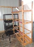 Produce Rack and Garden Shelf
