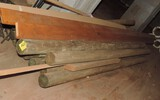 Lot of (19) Fence Posts