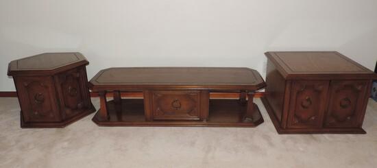 Set of Vintage Living Room Tables