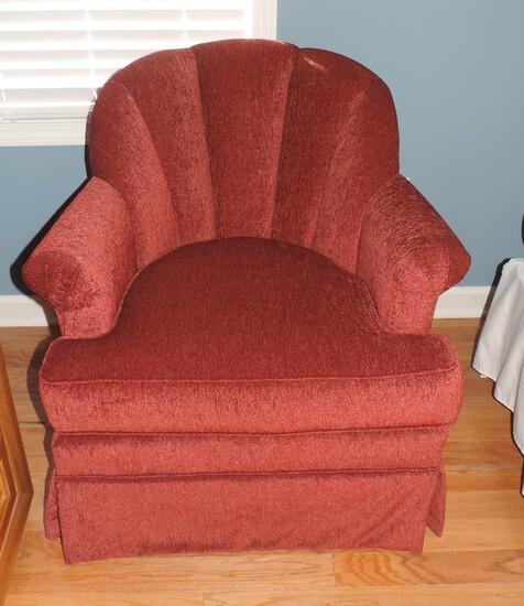 Like New Pembroke Chair Company Swivel Chair