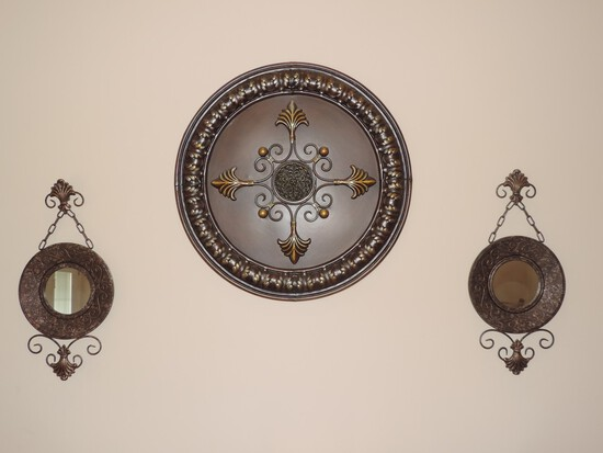 (3) Decorative Wall Art