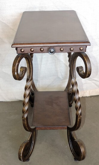 Modern Hall Table with Pull Out