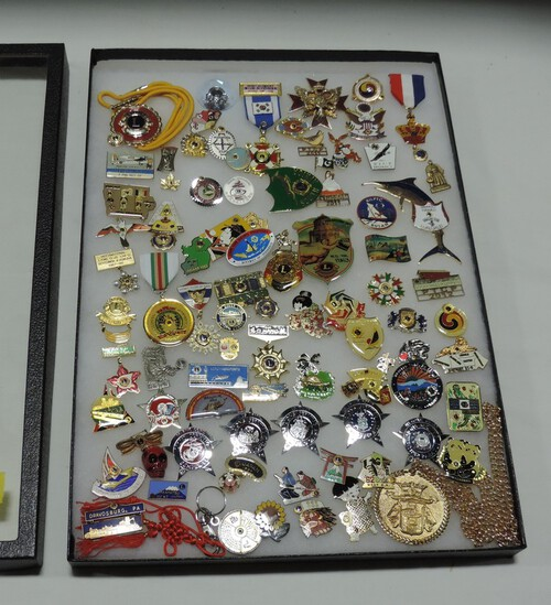 50+ LIONS CLUB COLLECTOR PINS