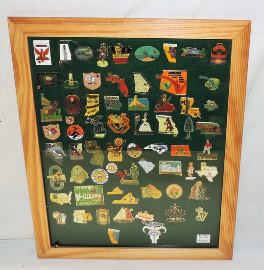 66 LIONS CLUB COLLECTOR PINS