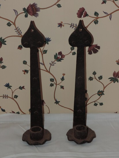 Craftsman Wall Candle Holders