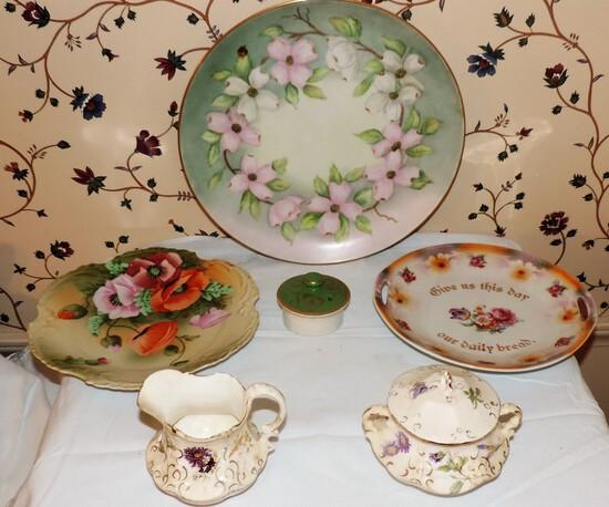 Lot of Victorian porcelain