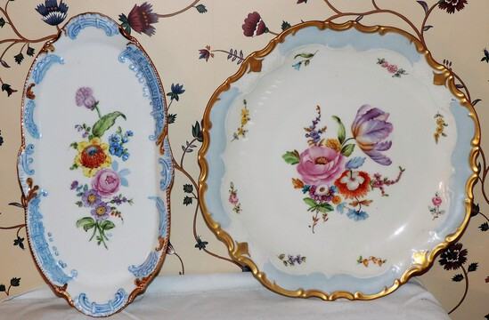 Lot of 2 vintage German dishes