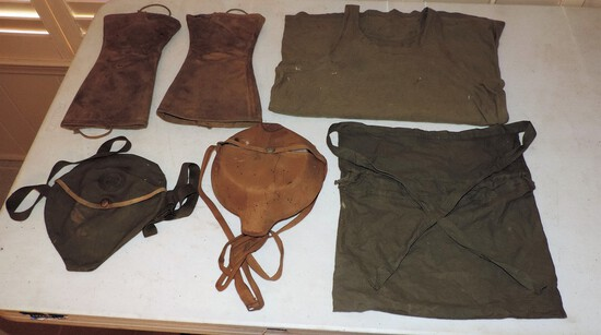 Lot of Boy Scout and military items