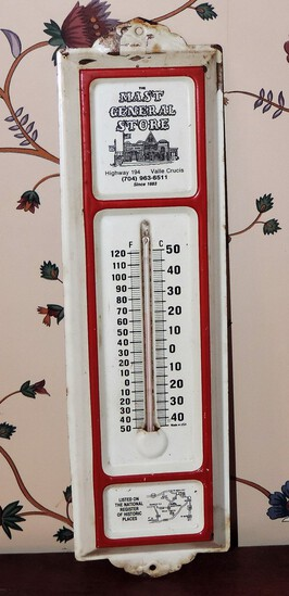 Vintage Mast General Store Thermometer