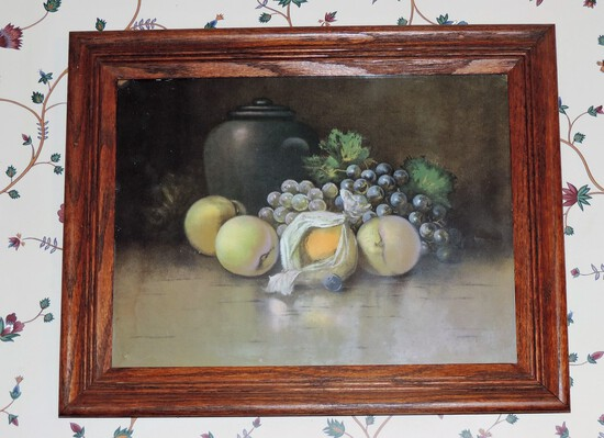 Vintage Fruit Print