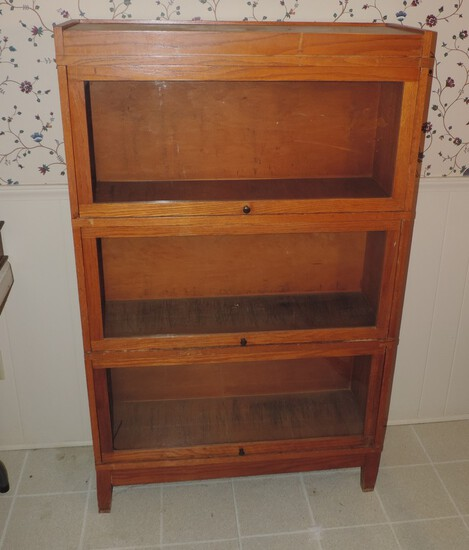 3 stack lawyers book case