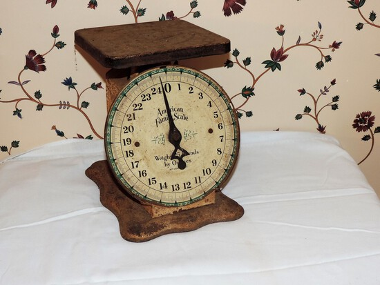 Antique American Family Scales